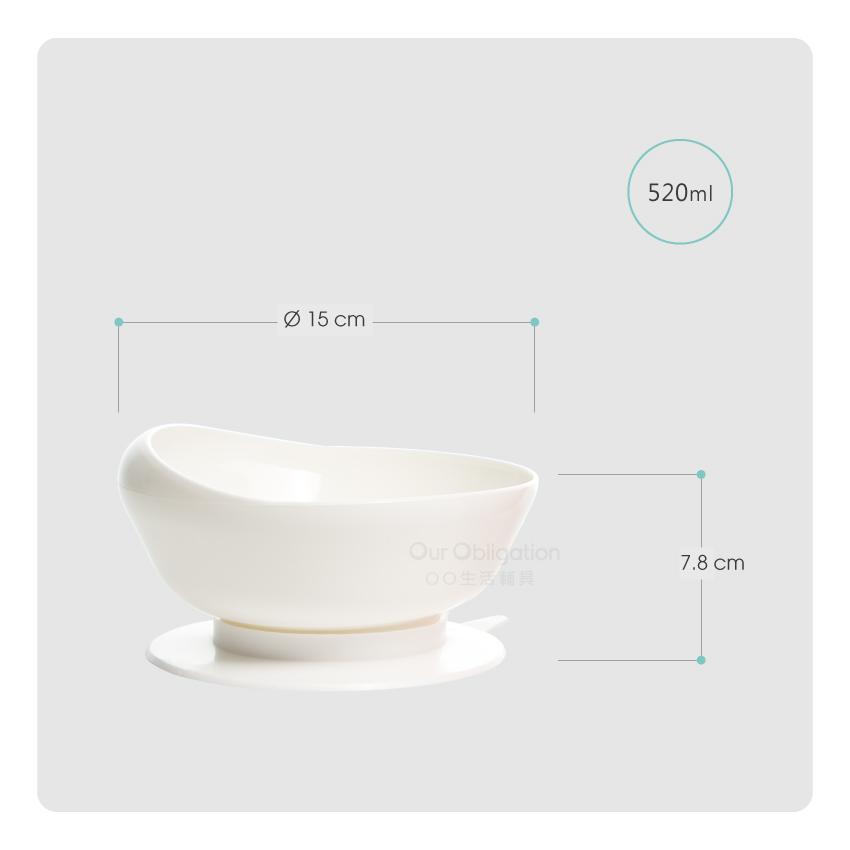 弧形吸盤碗-尺寸