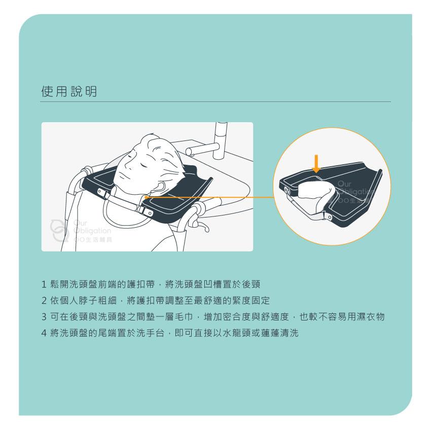 洗頭盤-使用說明